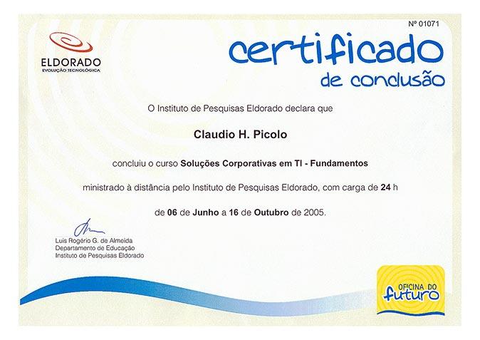 Picolo 39 s online for Oficinas certificado digital